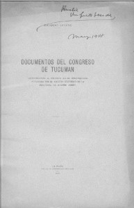 Documentos del Congreso de Tucumán