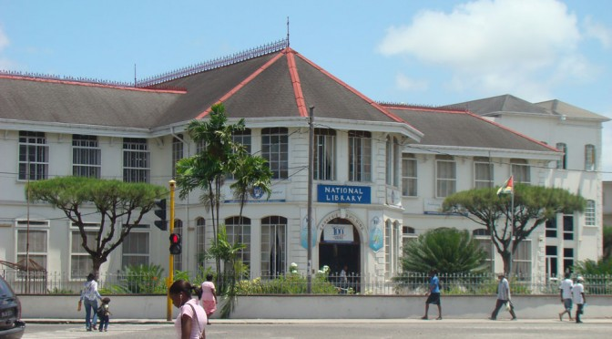 Historia y bibliotecas: Biblioteca Nacional de Guyana
