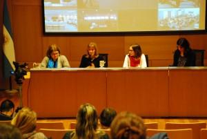 Mariana Alcobre, Graciela Perrone y Belén Irazabal