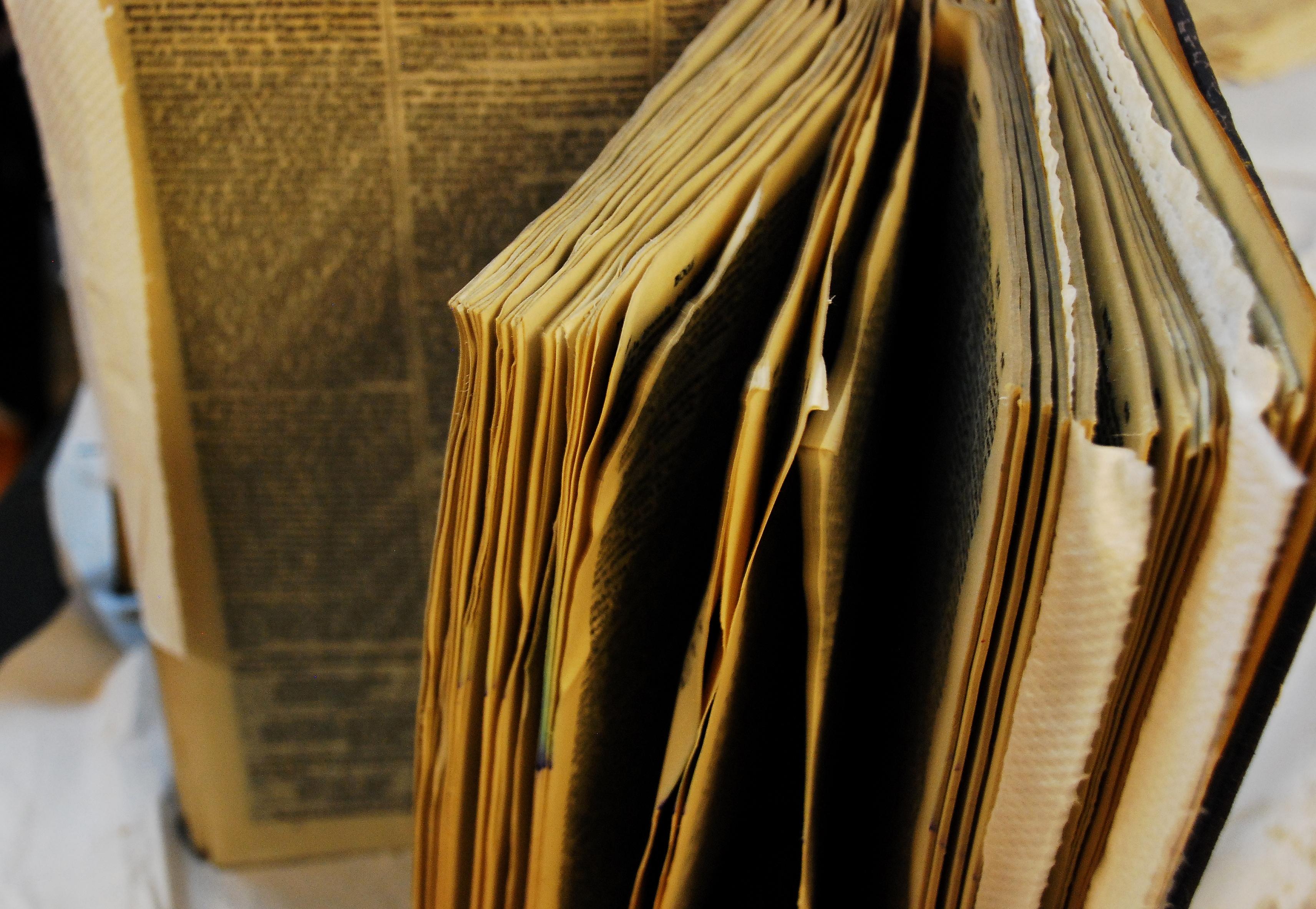 Libro mojado