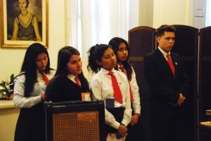 Estudiantes Ganadores del 1° premio Maestros Argentinos 2017