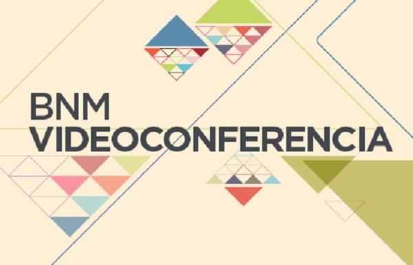 imagen abstracta para videoconferencias BNM