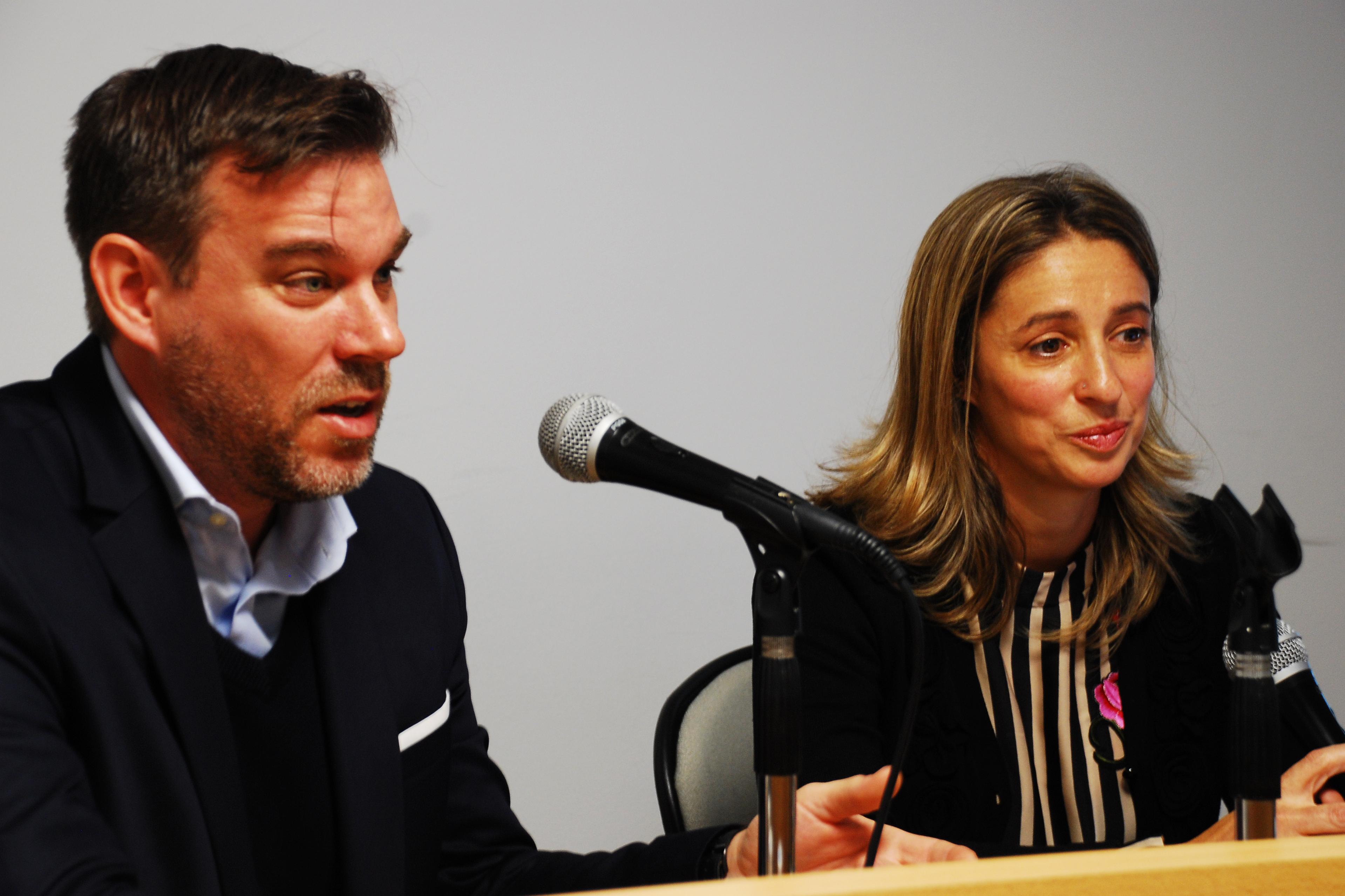 Ignacio C. Alberto y Marina Kienast