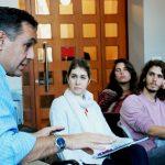 Visita Guiada con la presencia espercial del Ministro de Educación de la Nación