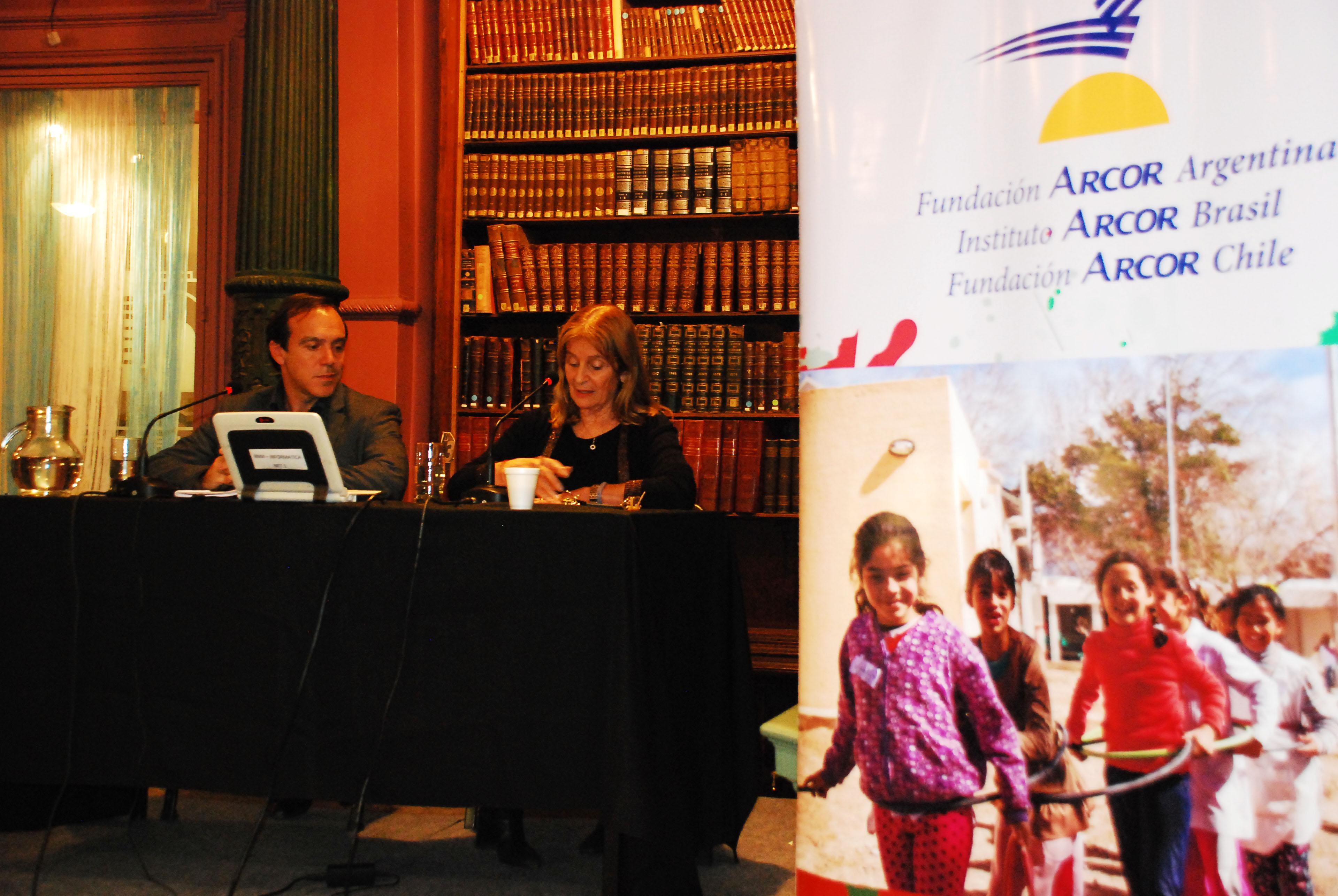 Lic. Javier Rodríguez y Lic. Graciela Perrone