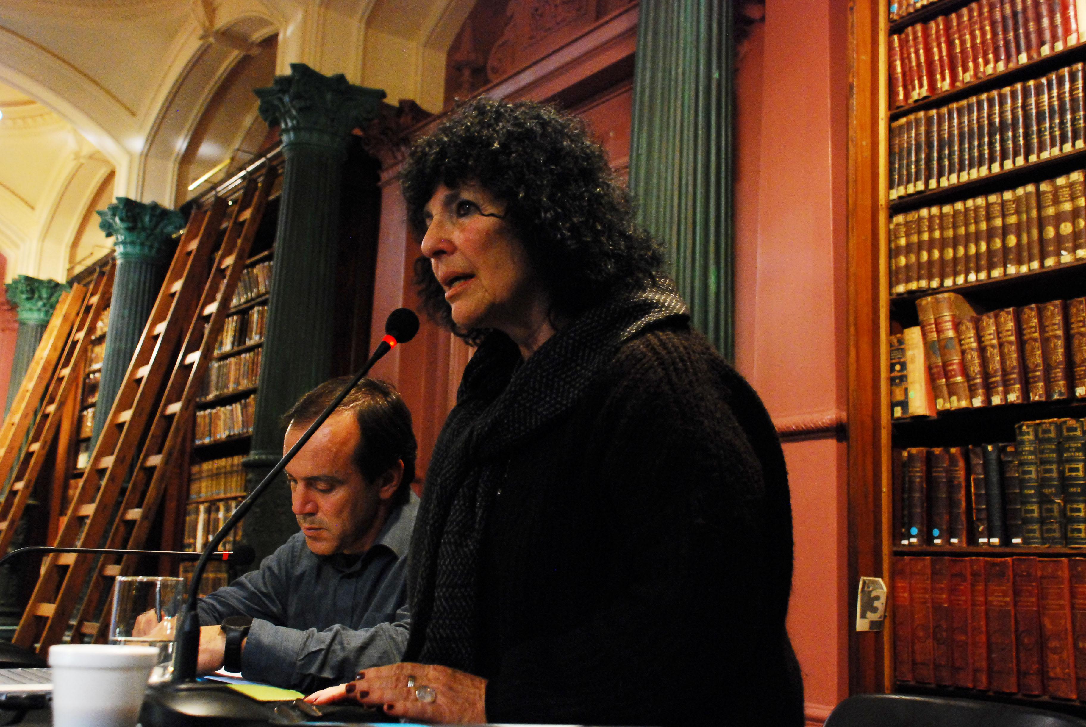 Mg. Alicia Entel y Lic. Javier Rodríguez