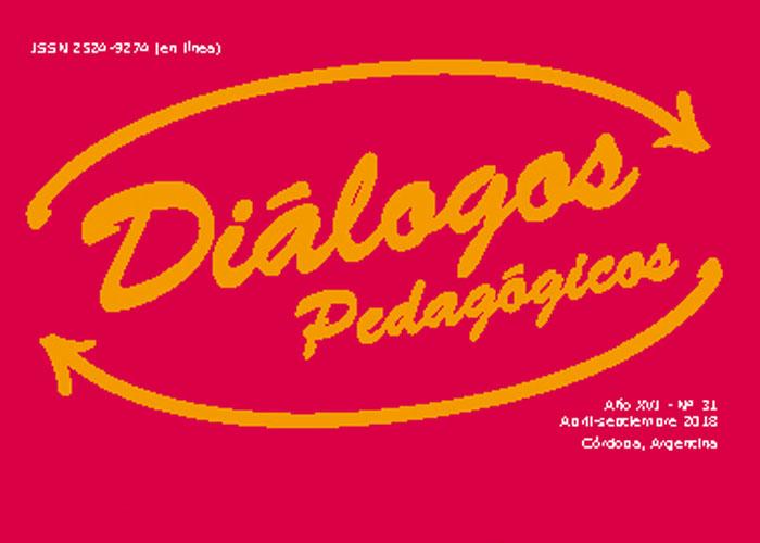 Tapa Dialogos Pedagogicos N° 31