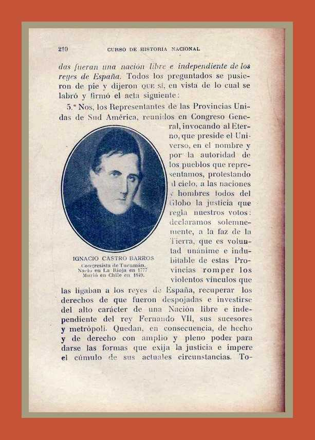 Curso de Historia Nacional