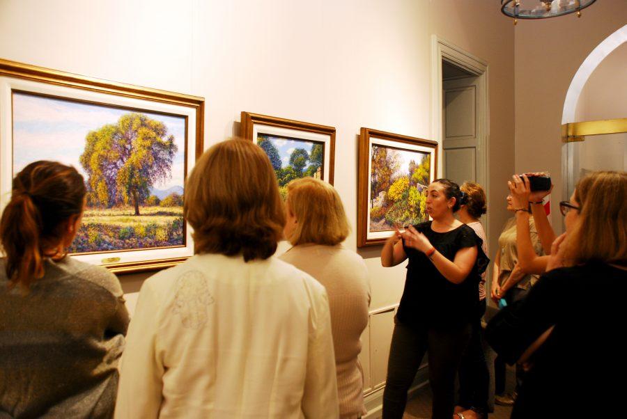 Visita guiada por exposición de Mario Sanzano