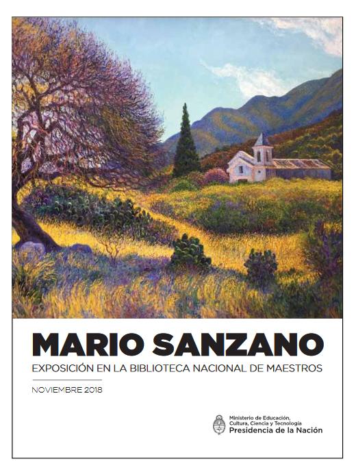 Invitación exposición Mario Sanzano