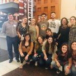 Grupo de estudiantes de La Plata