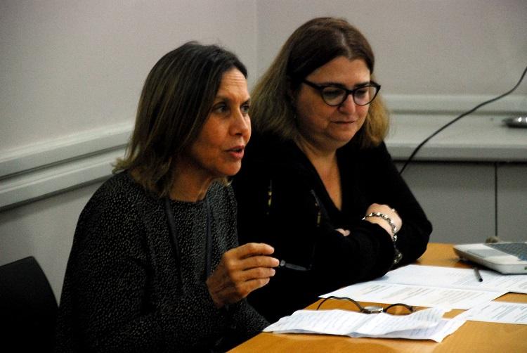 Silvia Finocchio y Mariana Alcobre