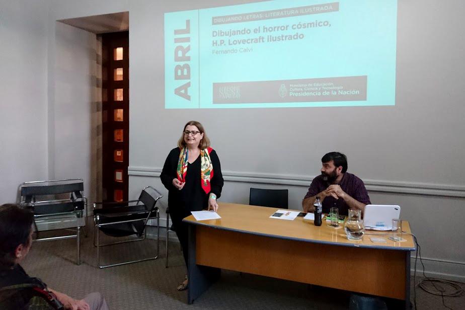 Mariana Alcobre en la apertura del encuentro