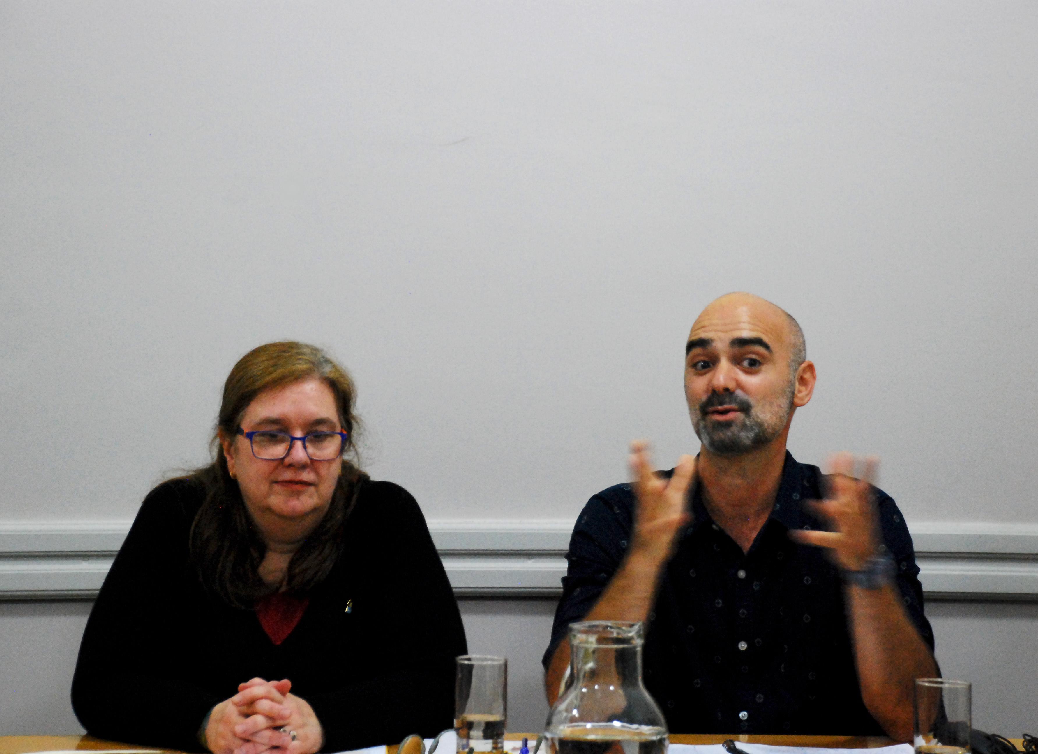 Mariana Castagnino y Carlos Rossi Elgue
