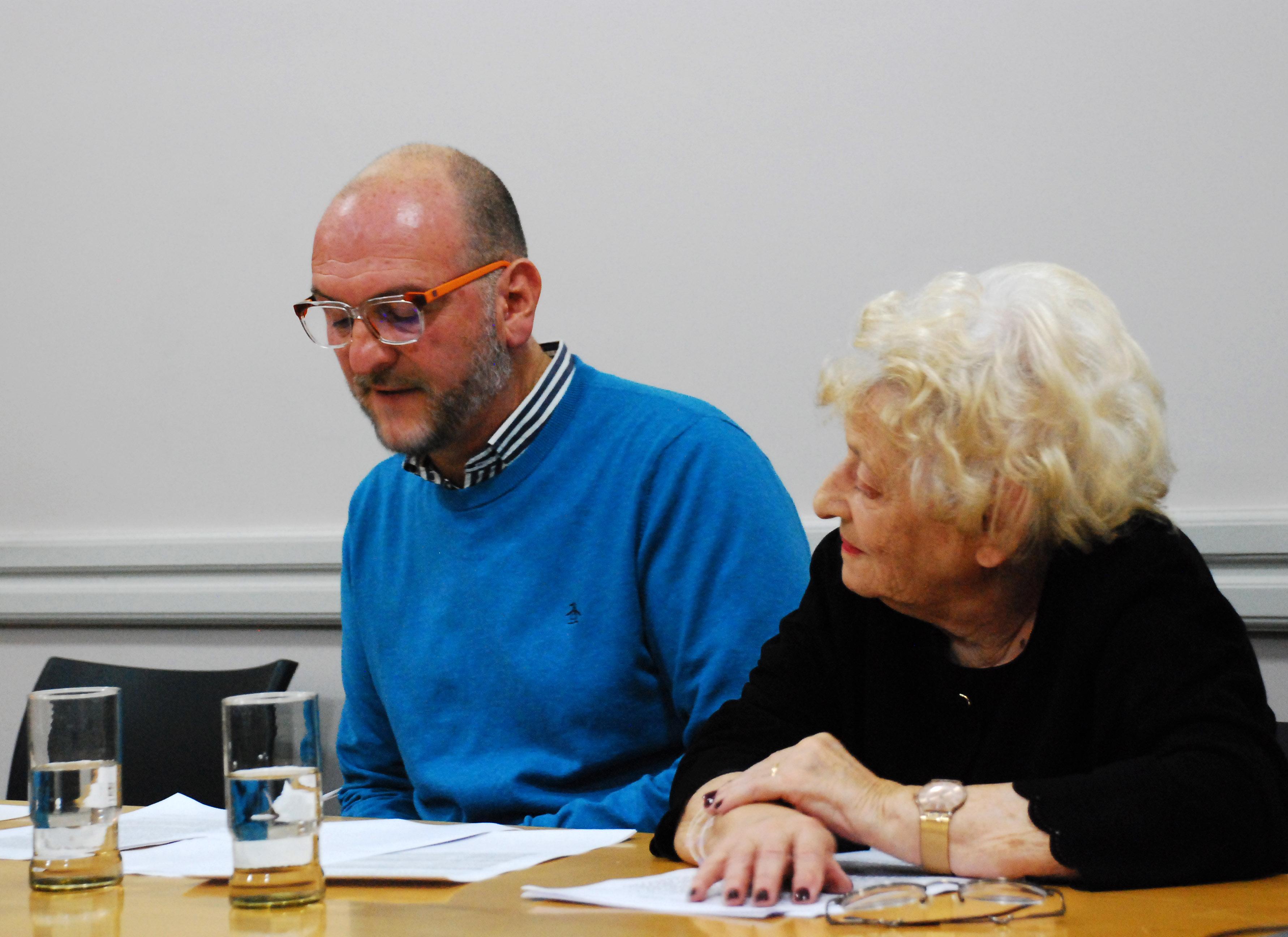 Luis Porta y Alicia Camilloni