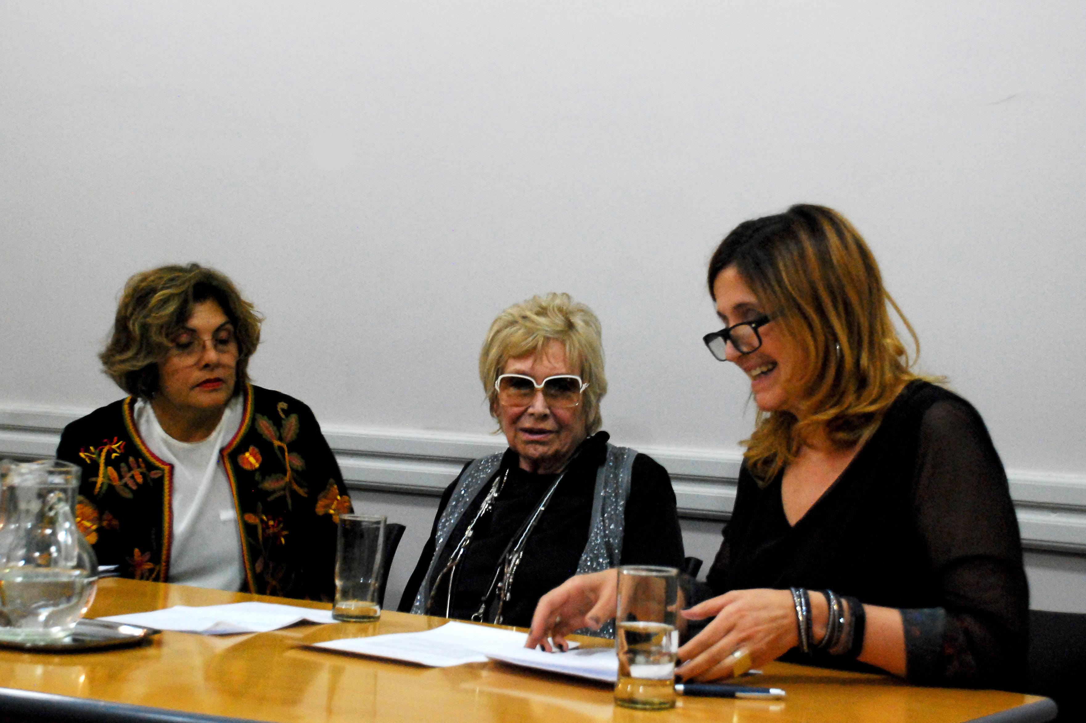 Sonia Bazán, Vilma Pruzzo y Mariana Maggio