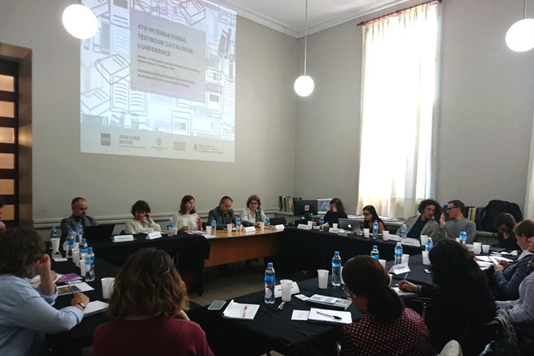4.ª Conferencia Catálogo Internacional de Textos Escolares