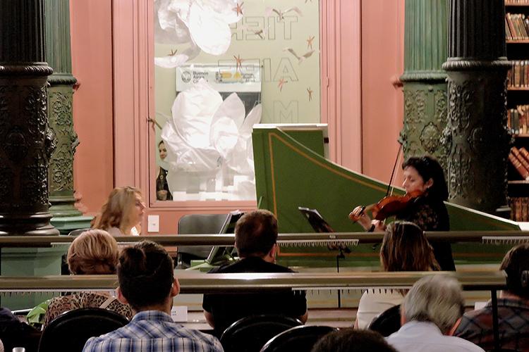 Música barroca francesa de los siglos XVII y XVIII: sonatas para violín y clave