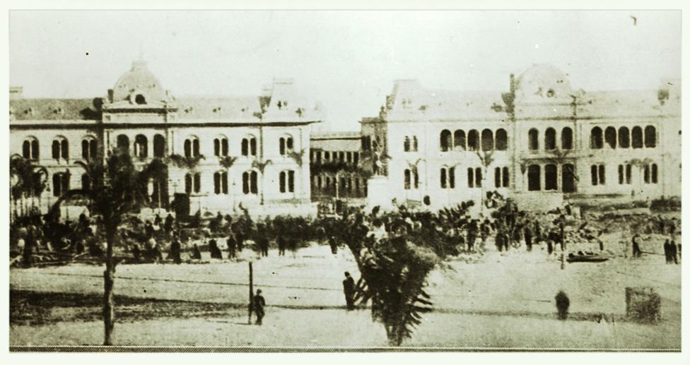 Biblioteca y Reparto de Libros, con funcionamiento en la Casa de Gobierno -en el predio de la actual Casa Rosada-