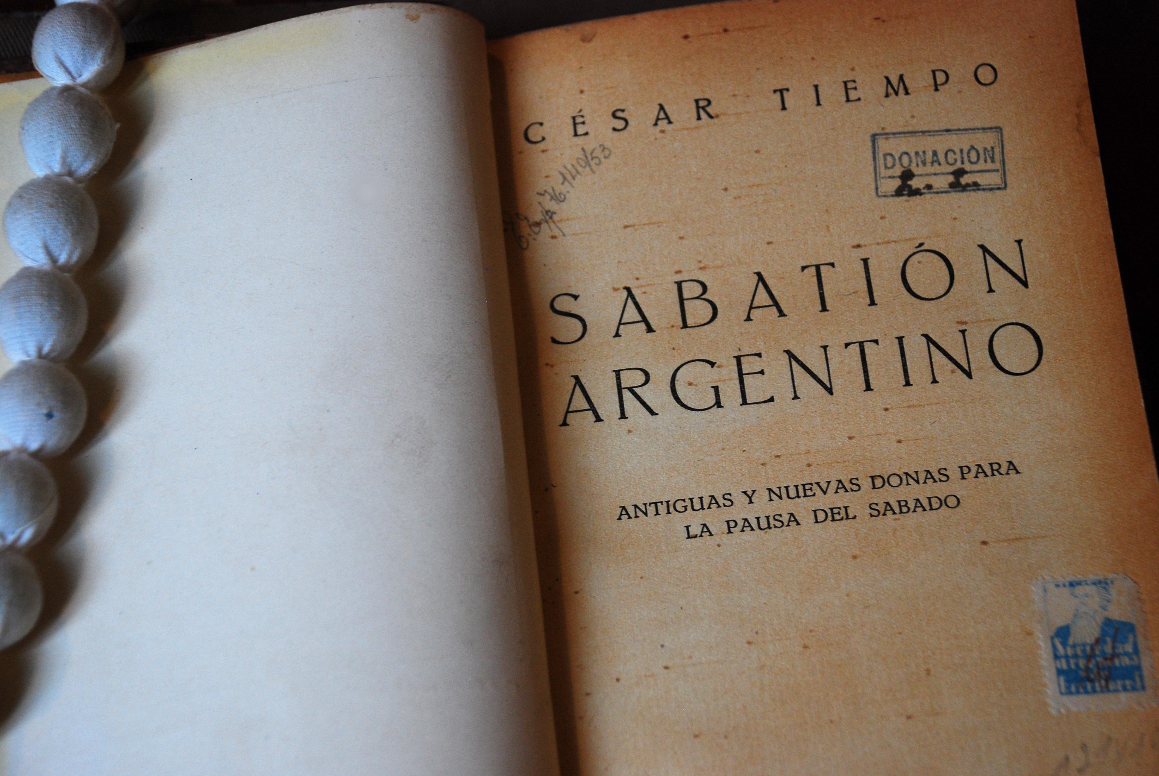 Sabatión argentino : antiguas y nuevas donas para la pausa del sábado