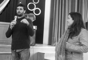 Lic. Guadalupe Gómez y Pablo Guerra
