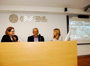 Mariana Alcobre, Carlos Aguirre y Graciela Perrone