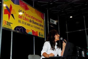 Julieta Dobarro -responsable de Contenidos y Formación en la Dirección Nacional de Innovación Educativa
