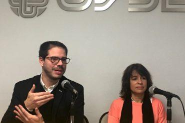 Lucas Delgado y Mariana Landau