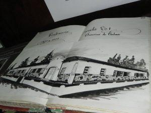 Imagen de Material Historio presentado en la muestra