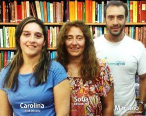 Bibliotecarios de la Biblioteca Pedagógica Rodolfo Walsh